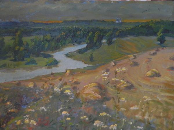 Картина маслом пейзаж 2